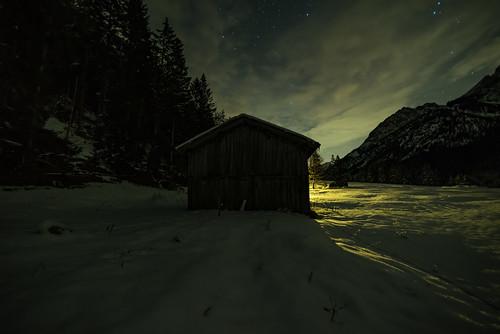 Winternacht im Risstal