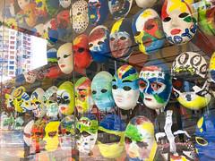 Masks, Kallang community Centre, Singapore