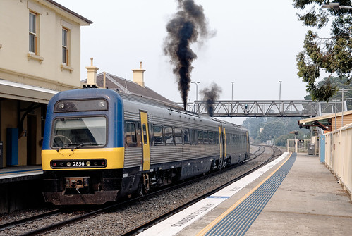Endeavour set 2806/2856 at Mittagong NSW