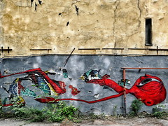 Psychodelic graffiti. St. Petersburg style_