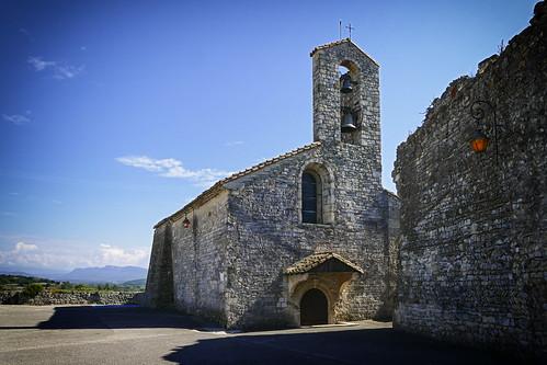 Saint Lambert church - Sauzet