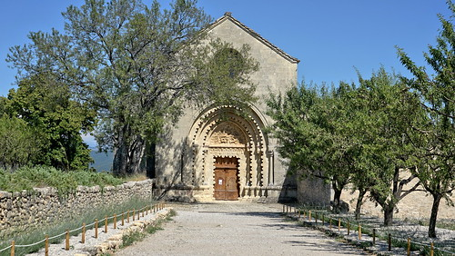 The entrance to a Benedictine abbey