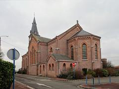 Halluin - Eglise Saint-Alphonse en 2020 (1)