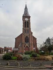 Halluin - Eglise Saint-Alphonse en 2020 (2)