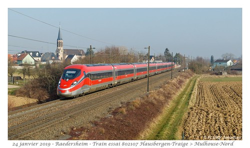 ETR400 Frecciarossa 1000 - Raedersheim