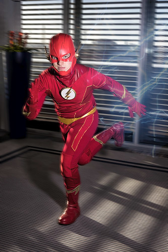 flash taking off