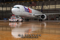N125FE FedEx | Boeing 767-3S2F(ER) | Memphis International Airport