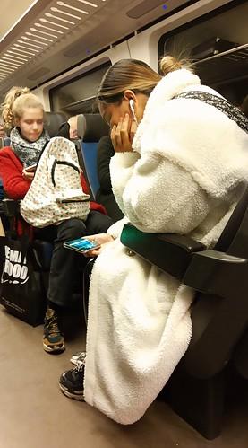 Girl in the 🚆 Train