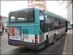Irisbus Agora Line – RATP (Régie Autonome des Transports Parisiens) / STIF (Syndicat des Transports d'Île-de-France) n°8205