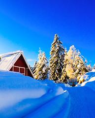Mountain farm. Norway
