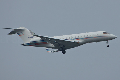 F-HFBY (cn 9188)Bombardier BD-700-1A11 Global 5000 Bouygues