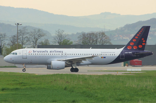 OO-SNC (cn 1797)Airbus A320-214 Brussels Airlines