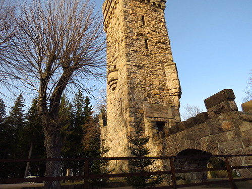 Hohe Warthe Turm 1902