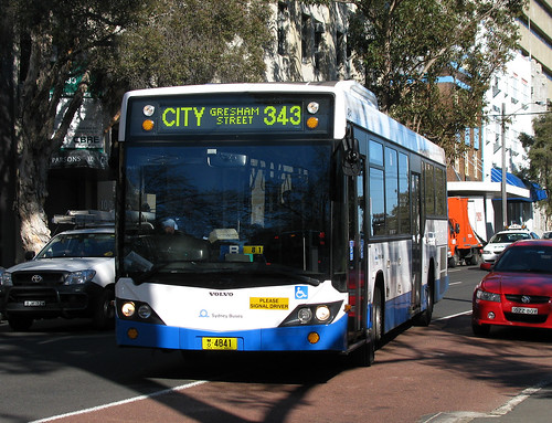 Bus 4841, Surry Hills, Sydney, NSW.