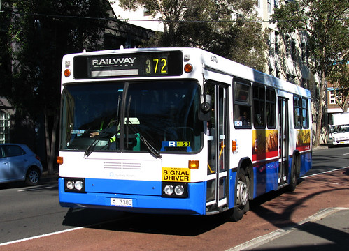 Bus 3300, Surry Hills, Sydney, NSW.