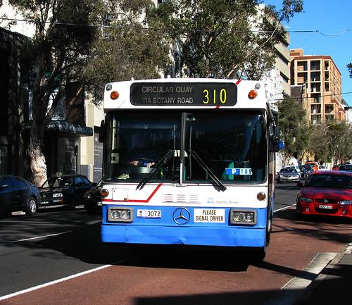 Bus 3072, Surry Hills, Sydney, NSW.