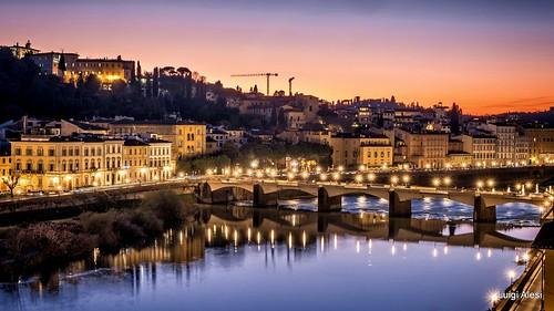 Firenze - dopo il tramonto
