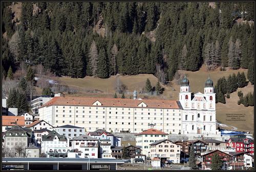 20200122 Graubünden_21 Disentis Mustér Disentis Abbey