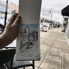 View from Starbucks