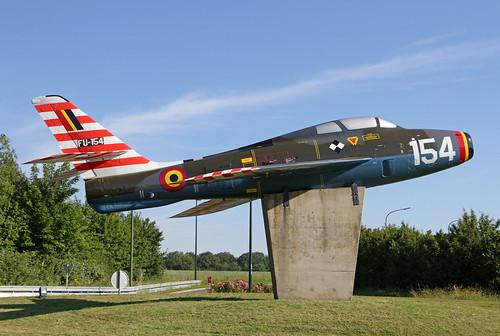 FU154_Republic_F84F_Thunderstreak_Blu_Florennes20190623_4
