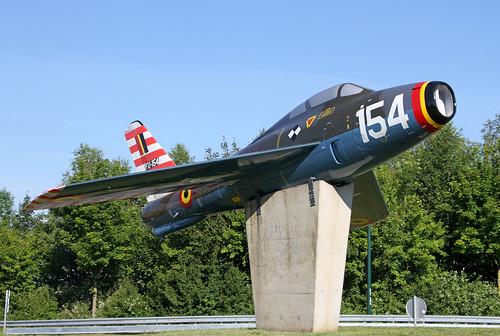 FU154_Republic_F84F_Thunderstreak_Blu_Florennes20190623_2