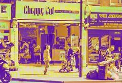 Choppy Cut in Threes