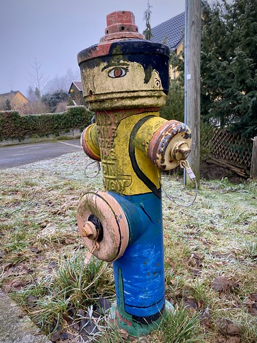 Fire hydrant paint job