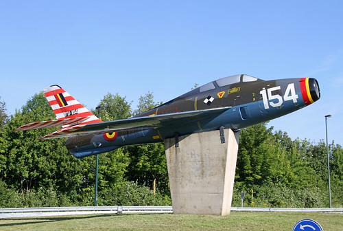 FU154_Republic_F84F_Thunderstreak_Blu_Florennes20190623_1