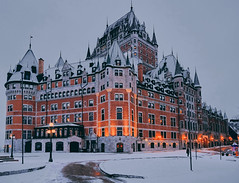 Wintry Chateau