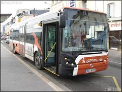 Irisbus Citélis 12 – Setram (Société d'Économie Mixte des TRansports en commun de l'Agglomération Mancelle) n°108