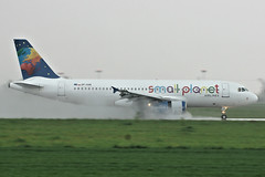 SP-HAB(cn 1411)Airbus A320-232 Small Planet Airlines