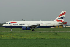 G-EUUL (cn 1708)Airbus A320-232 British Airways