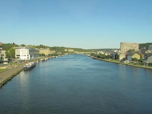 Namur: Crossing the River Meuse (Namur))