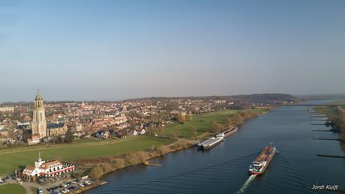 Neder-Rijn bij Rhenen | 26-01-2020