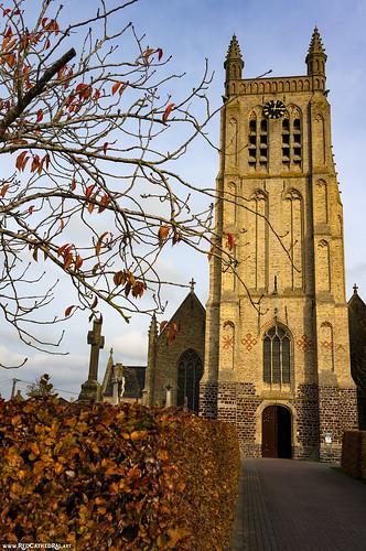 Sint-Rictrudiskerk Woesten ( Vleteren )