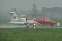 D-CCCB (cn 35A-663)Learjet 35A/ZR DRF (German Air Rescue)