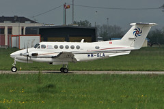 HB-GLA (cn BB-883)Beech B200 Super King Air Swiss Flight Services