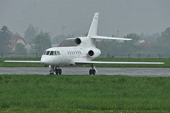 F-RAFJ (cn 78) Dassault Falcon 50 France - Air Force