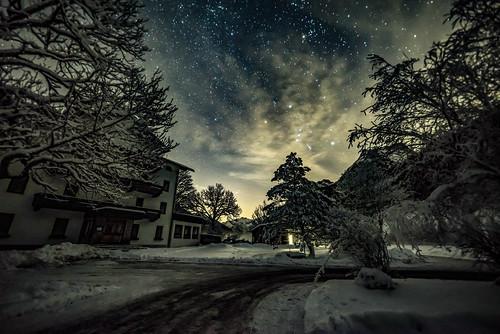 Sternenhimmel über dem Risstal
