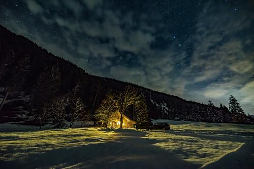 Einsames Haus im Risstal