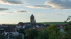 Couché de soleil sur Rosheim