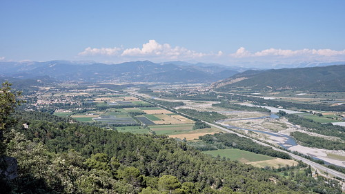 The Durance valley