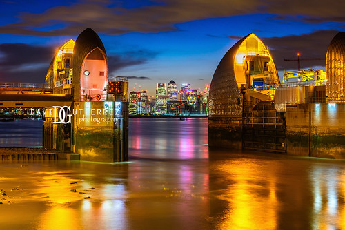 Thames Barrier (IV), London, UK