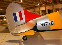 Hawker Tempest TT Mk.V (NV778)  tail detail, RAF Museum, Hendon.