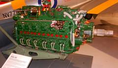 Napier Sabre III, RAF Museum, Hendon.