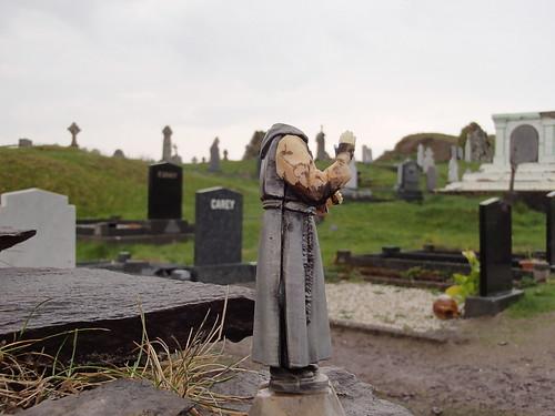 Spooky Headless Monk