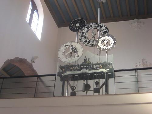 Horloge de la Creation - Église de Saint Léger - Munster