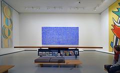 Mobilier pour le musée national d'art moderne conçu par Charlotte Perriand (Fondation Vuitton, Paris)