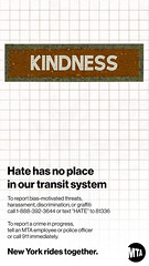 MTA Anti-Hate Campaign: Hate Has No Place on the MTA