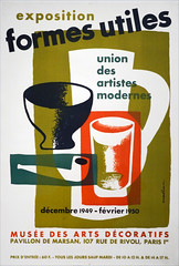Affiche de l'exposition Formes utiles (Fondation Vuitton, Paris)